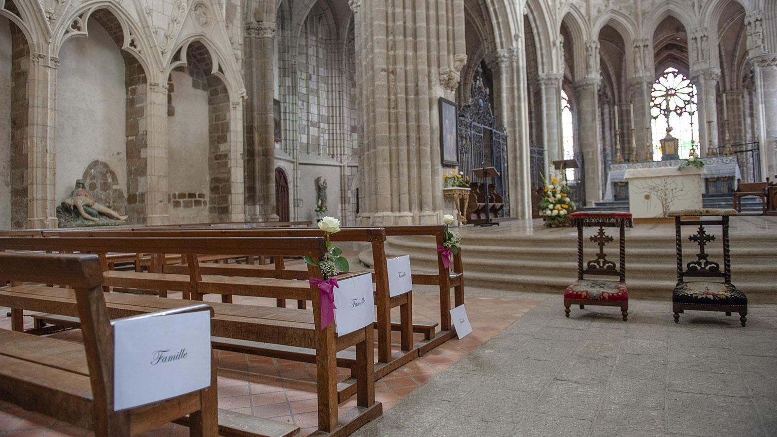 Das Kirchenschiff der Abteikirche. Foto: Hilke Maunder