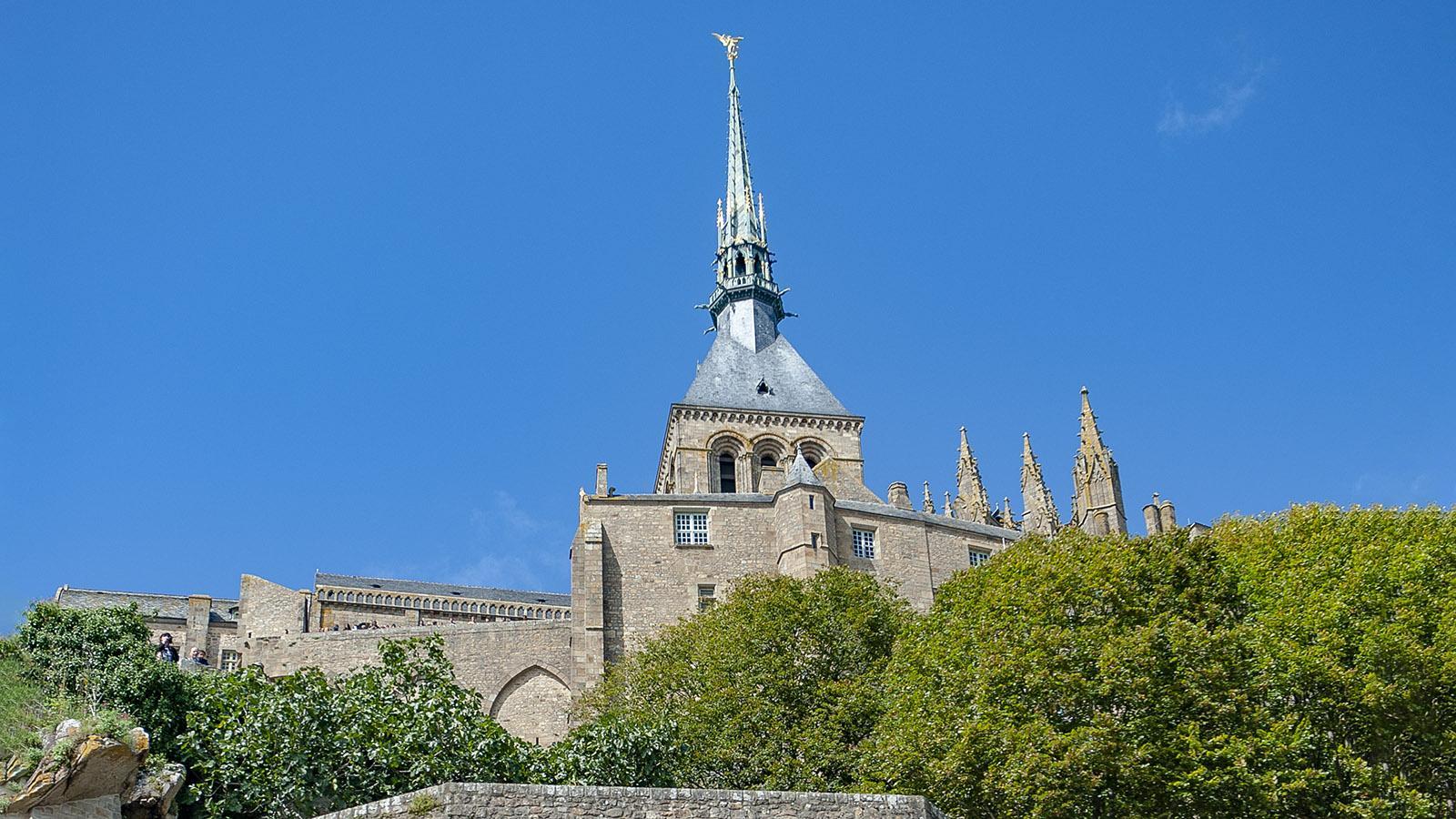 Die Abtei des Mont-Saint-Michel. Foto: Hilke Maunder