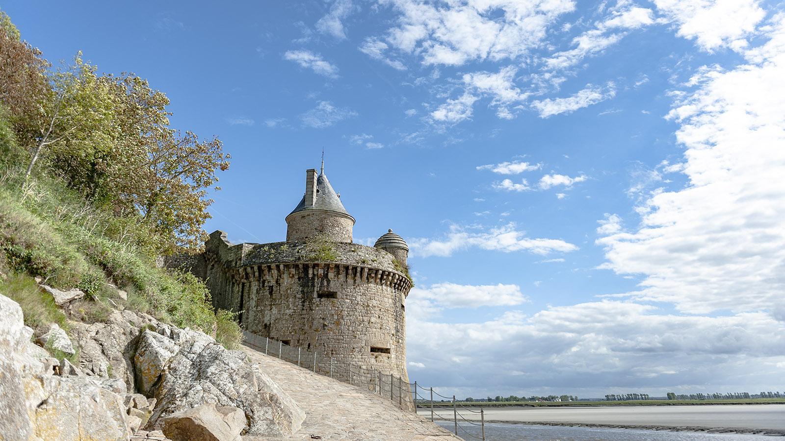 Mont-Saint-Michel, Tour Gabriel. Foto: Hilke Maunder