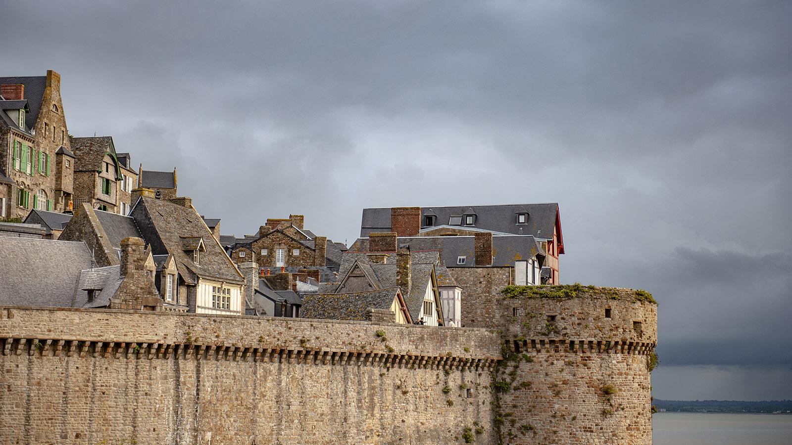 Ein Bollwerk des Glaubens: der Mont-Saint-Michel. Foto: Hilke Maunder