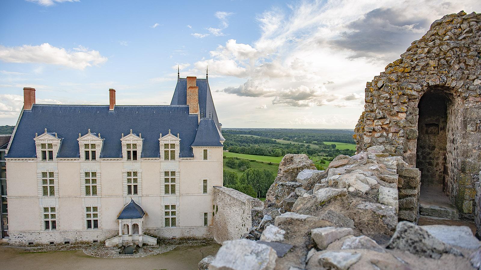 Das Château von Sainte-Suzanne. Foto: Hilke Maunder