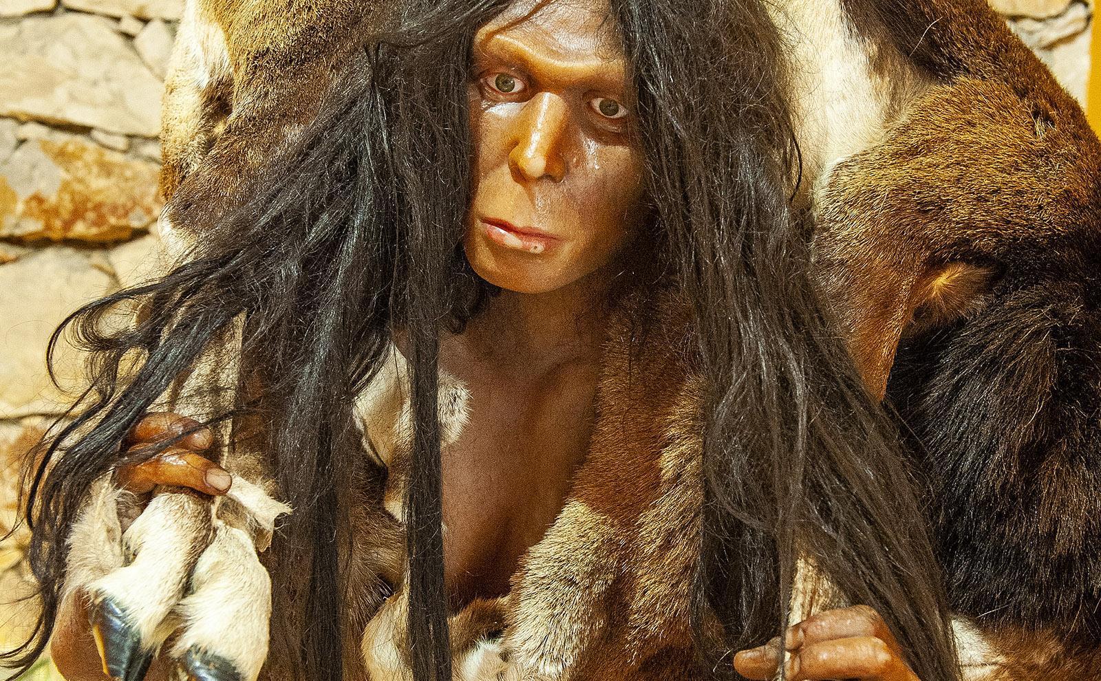 Der Mann von Tautavel lebt von der Jagd. Foto: Hilke Maunder
