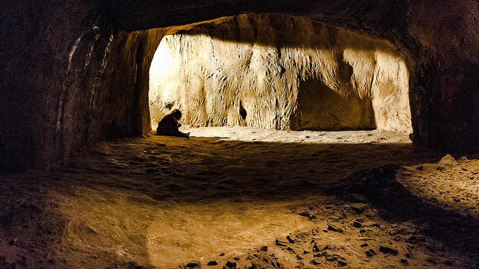 Cave Arago-Nachbau im prähistorischen Museum von Tautavel. Foto: HIlke Maunder