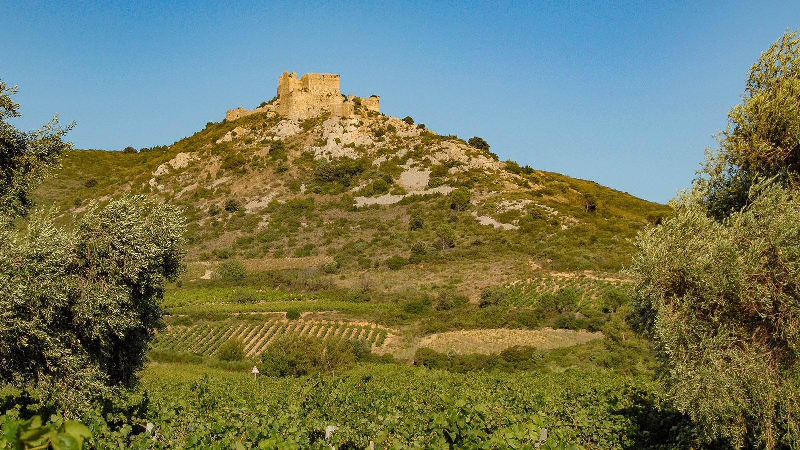 Tuchan: Château d'Aguilar. Foto: Hilke Maunder