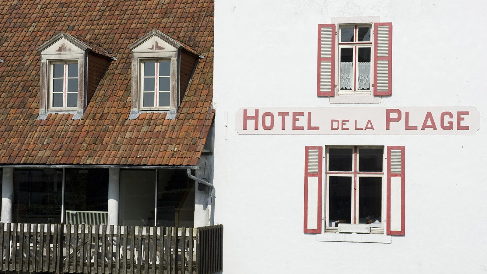 Das Hôtel de la Plage von Wissant an der Côte d'Opale. Foto: Hilke Maunder