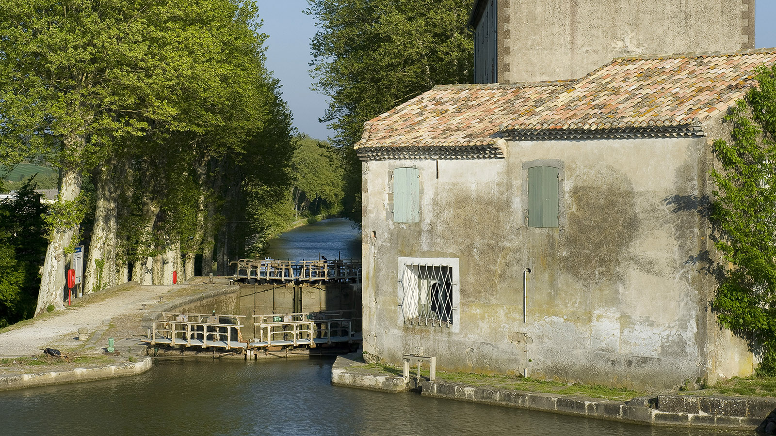 Canal du Midi: Écluse St-Roch. Foto: Hilke Maunder