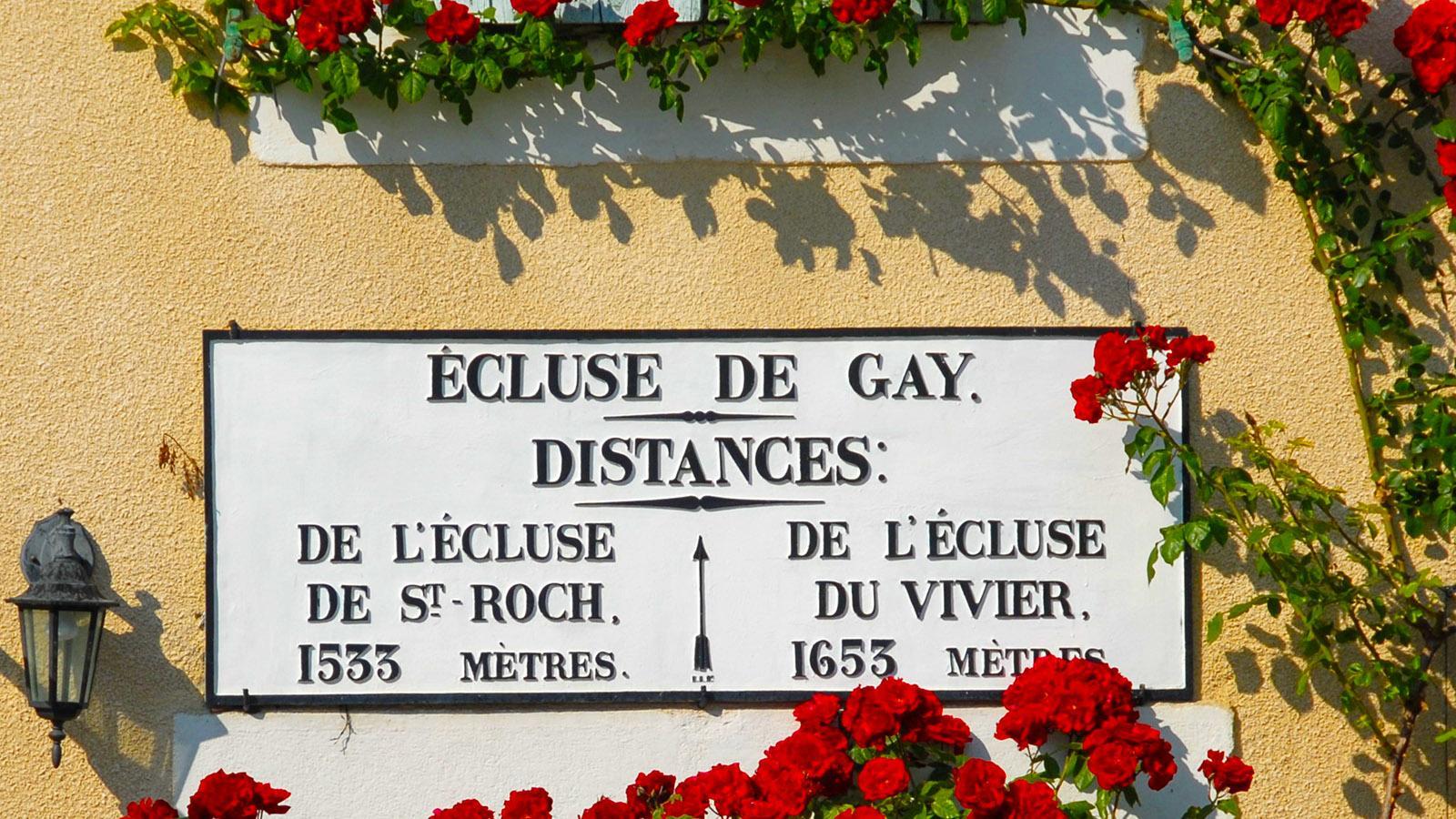 Canal du Midi: Écluse de Gay. Foto: Hilke Maunder