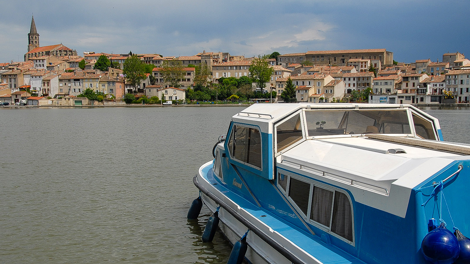 Canal du Midi: Grand Bassins von Castelnaudary. Foto: Hilke Maunder