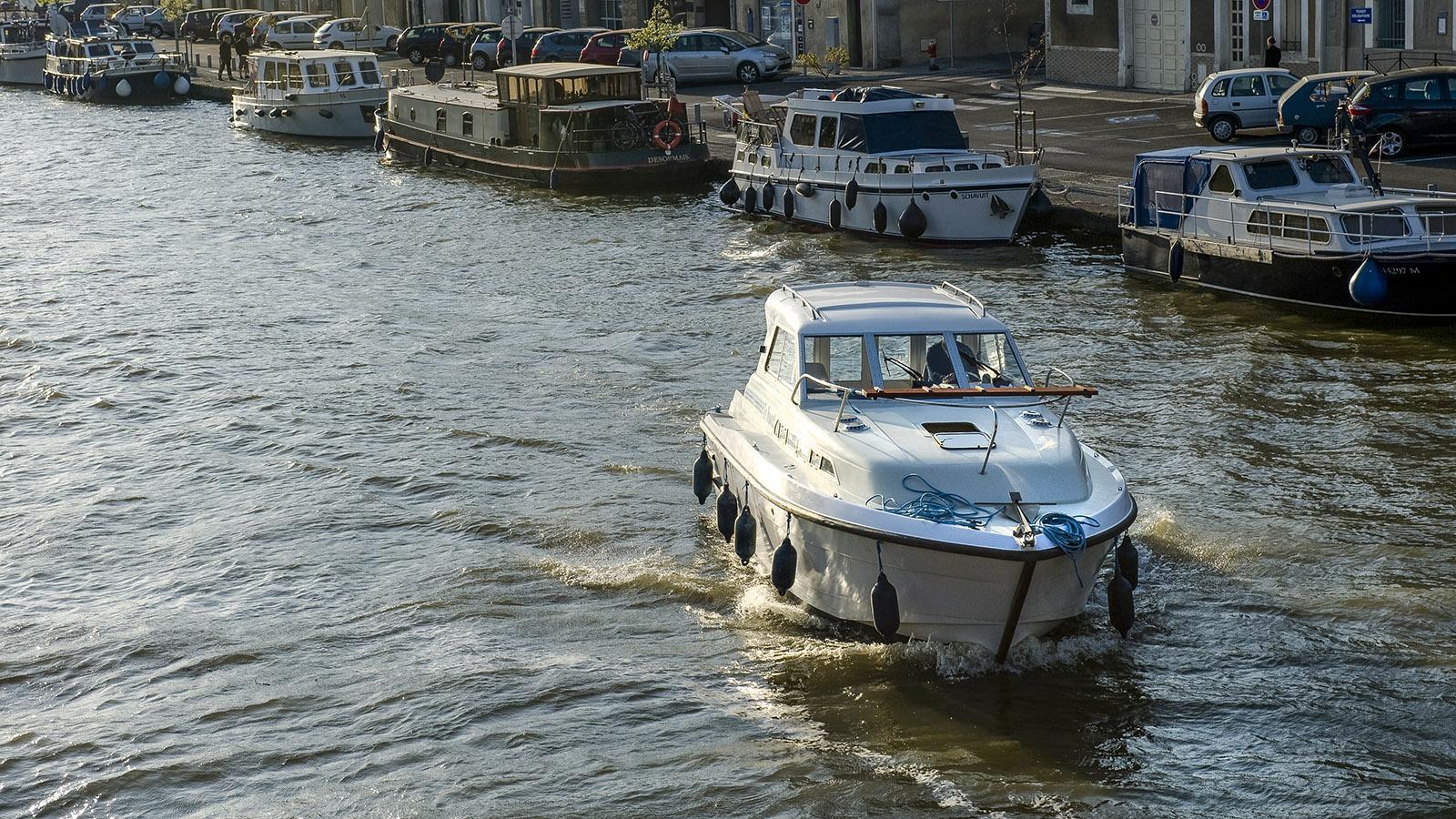 Canal du Midi: mit dem Hausboot unterwegs. Foto: Hilke Maunder