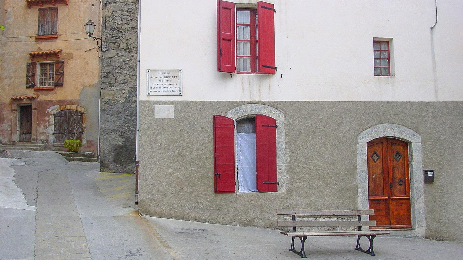 F/Provence/Haute Provence/Entrevaux: im mittelalterlichen Ortskern.