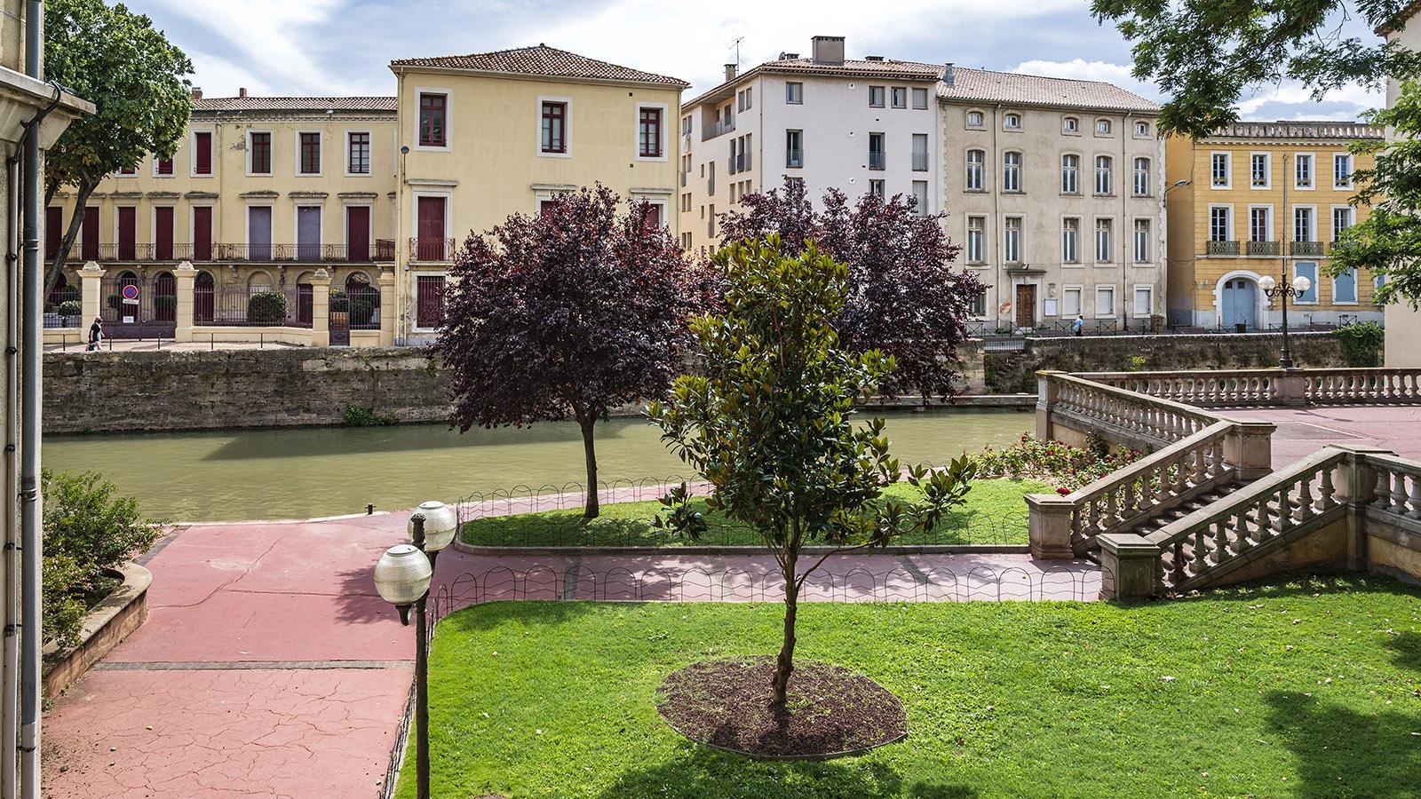 Der Canal de la Robine beim Office de Tourisme. Foto: Hilke Maunder