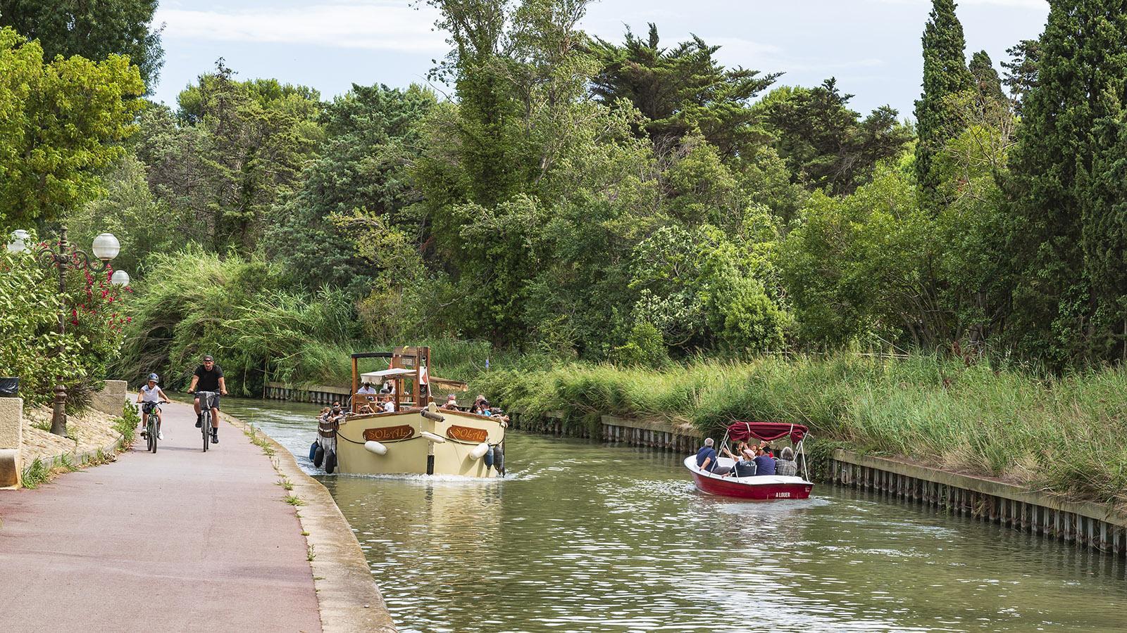 Unterwegs auf dem <em>Canal de la Robine</em>. Foto: Hilke Maunder