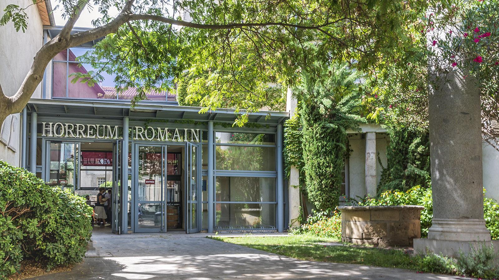 Der Eingang zum Horreum. Foto: Hilke Maunder
