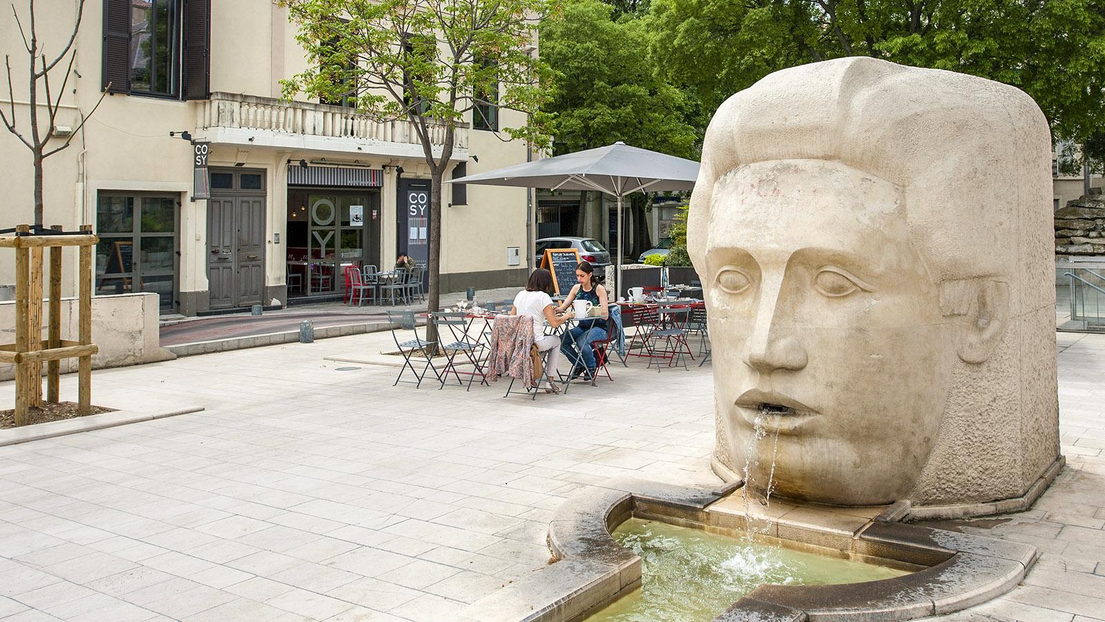 Nîmes: Place d'Assas. Foto: Hilke Maunder