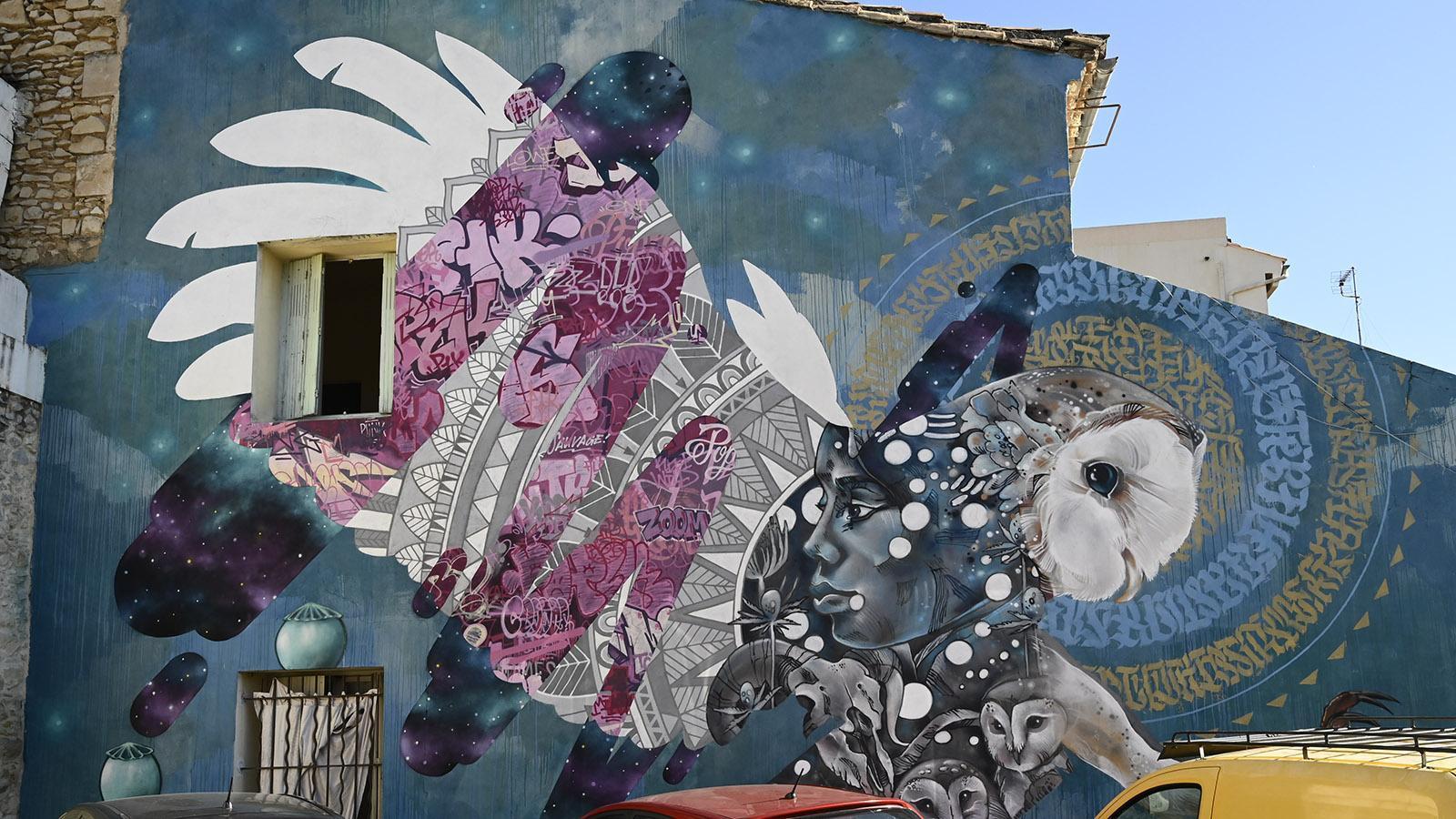 Nîmes: Street Art im Quartier Richelieu. Foto: Hilke Maunder