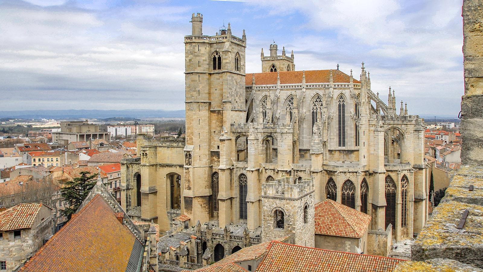 Die Kathedrale vom Donjon aus. Foto: Hilke Maunder