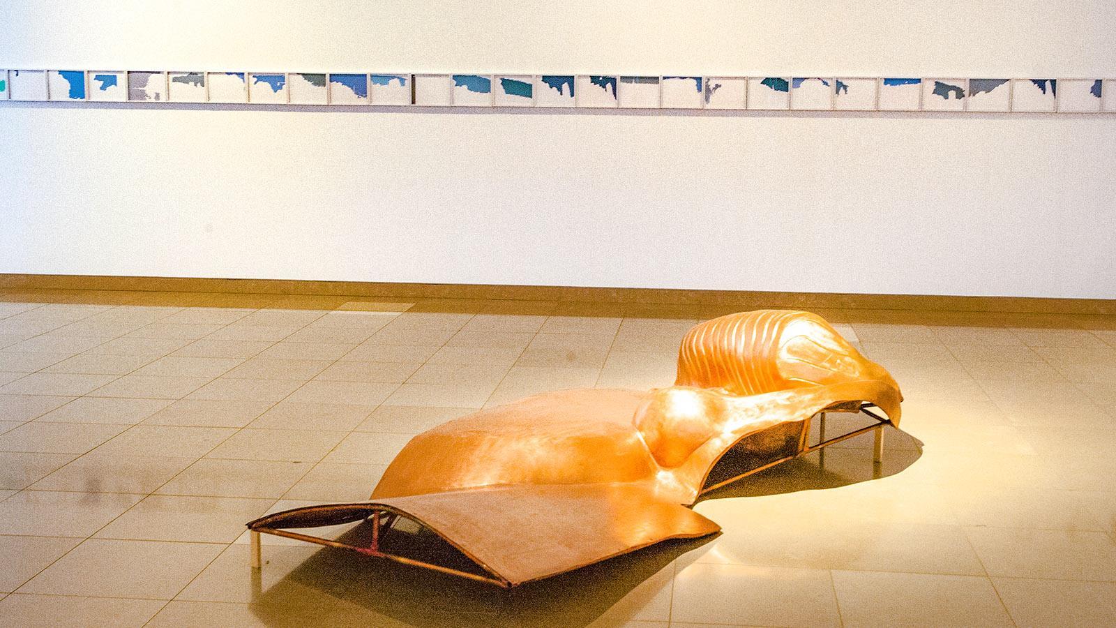 Nîmes: Jahresausstellung im Carré d'Art 2018. Hilke Maunder