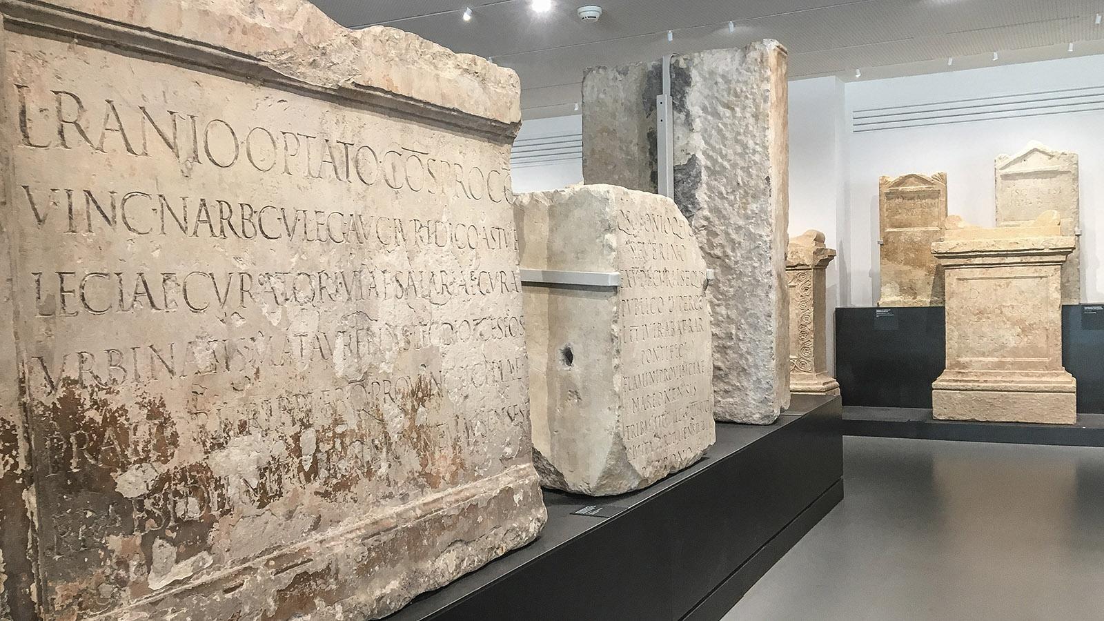 Nîmes: Musée de la Romanité. Foto: Hilke Maunder