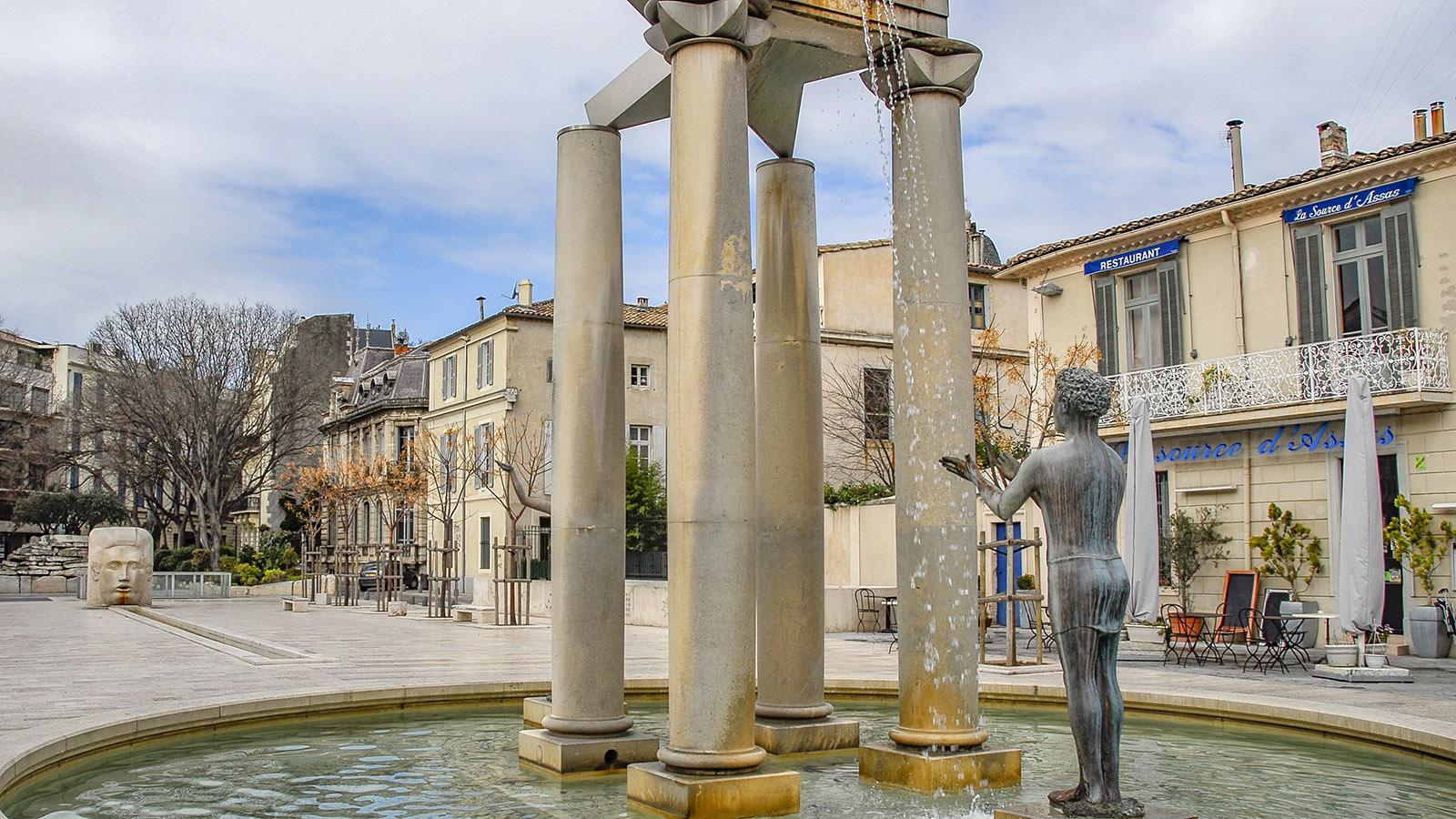 Nîmes. Place d'Assas. Foto: Hilke Maunder
