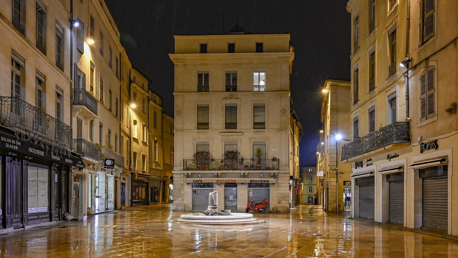 Nîmes: Place du Marché. Foto: Hilke Maunder
