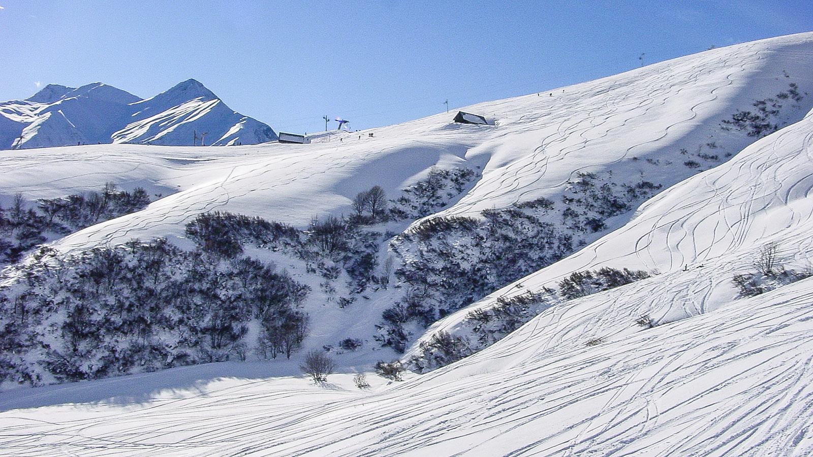 Les Sybelles: Am Mont Corbier. Foto: Hilke Maunder