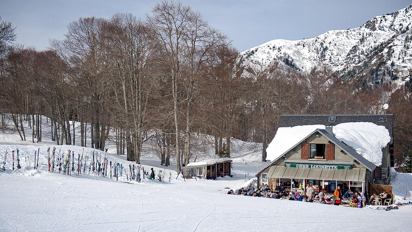 Chez Louisette auf dem Plateau de Lienz. Foto: Hilke Maunder