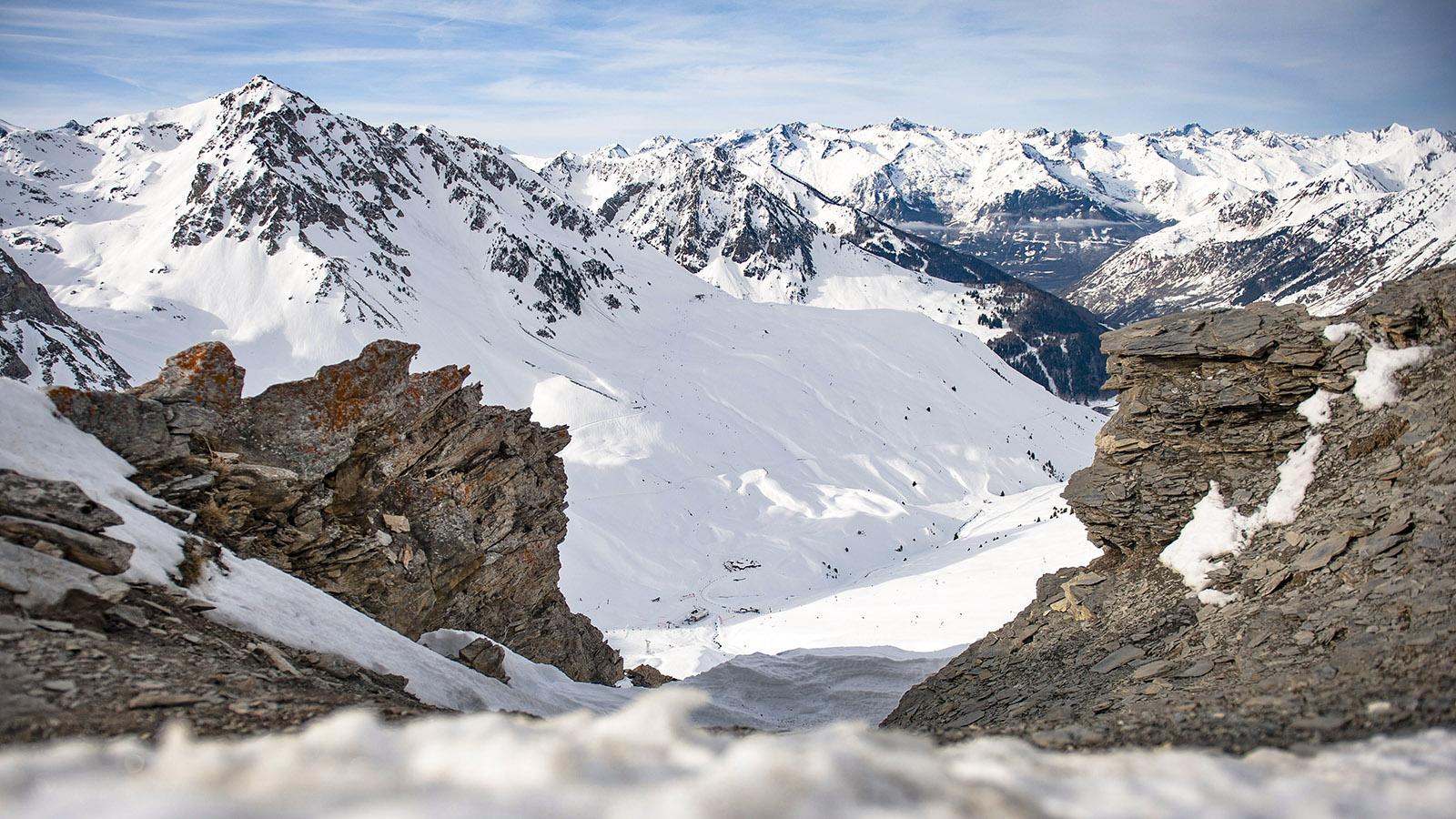 Im Skigebiet von Barèges. Foto: Hilke Maunder
