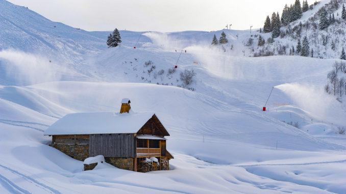 Le Grand Bornand, Skigebiet. Foto: Hilke Maunder