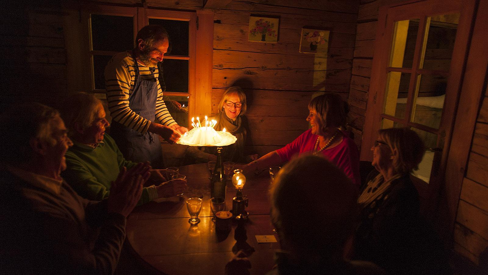 La Ferme de Lormay in Le Grand Bornand. Foto: Hilke Maunder