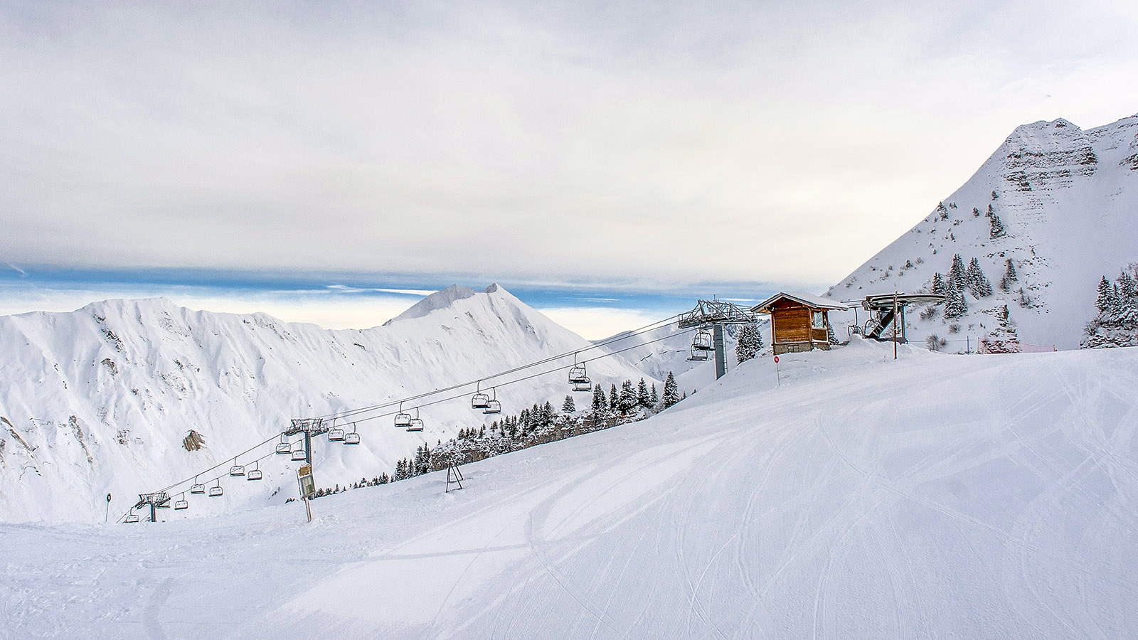 Le Grand Bornand, Blick ins Tal. Foto: Hilke Maunder