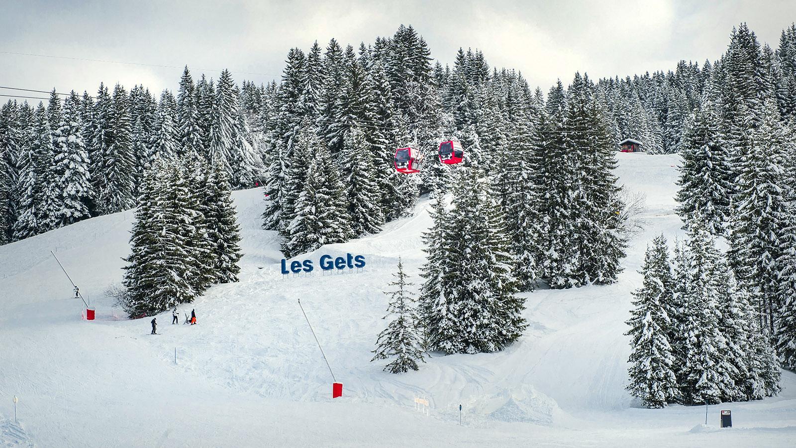 Les Gets: Foto: Hilke Maunder