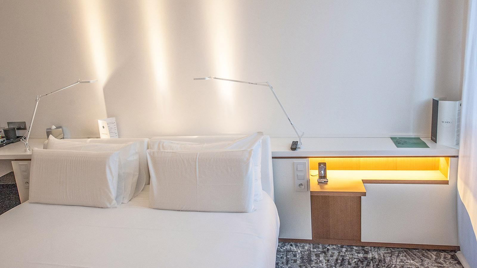 Hôtel C2: Zimmerdetail. Foto: Hilke Maunder