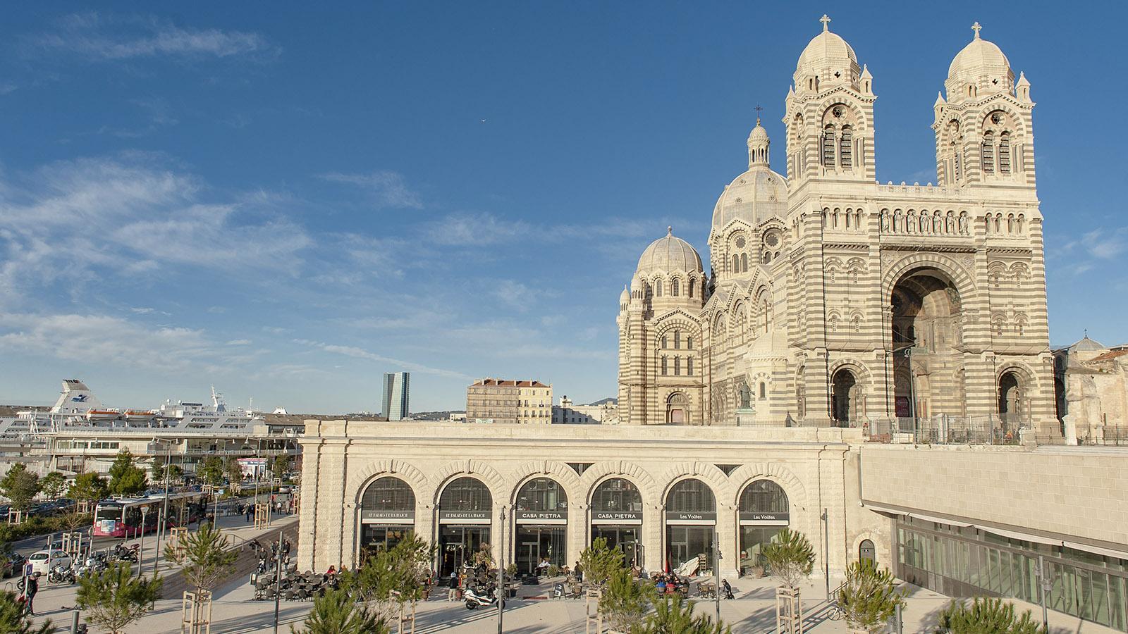 Marseille: La Joliette. Foto: Hilke Maunder