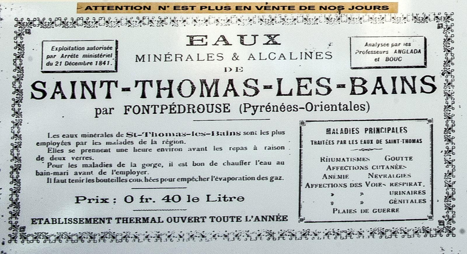 Die Bains Saint-Thomas im Tal der Têt. Foto: Hilke Maunder