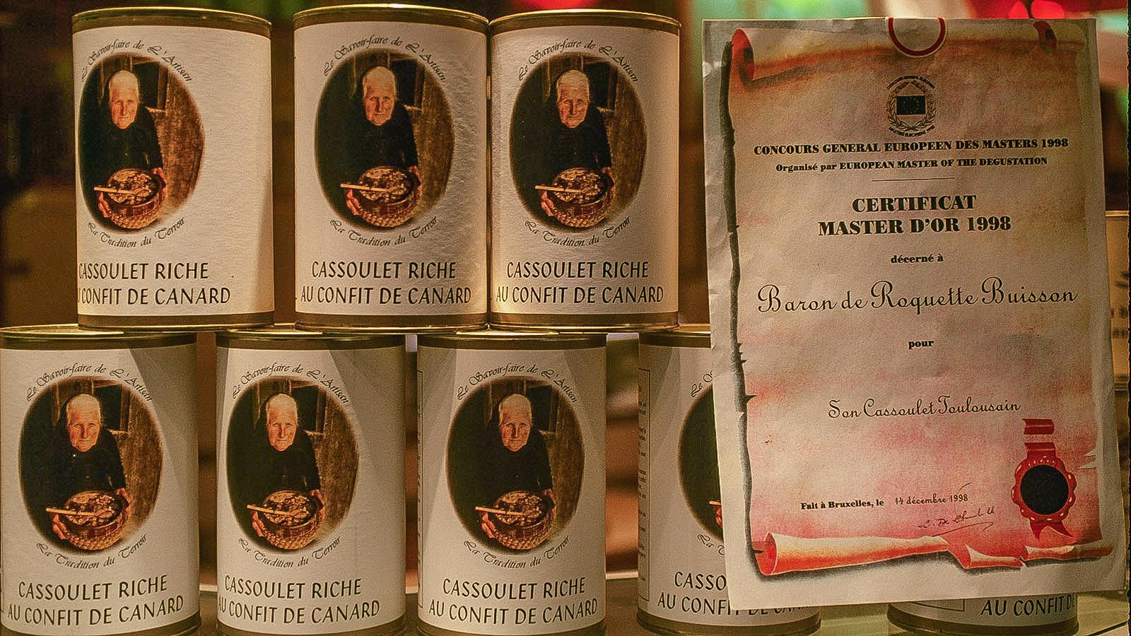 Cassoulet aus Toulouse, gefunden im Marché Victor Hugo. Foto: Hilke Maunder