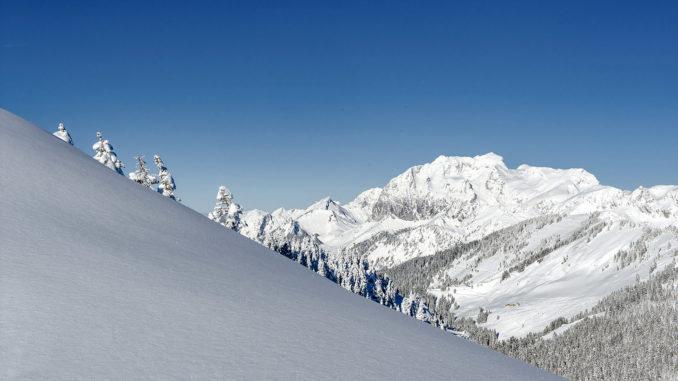 Châtel: im Skigebiet. Foto: Hilke Maunder