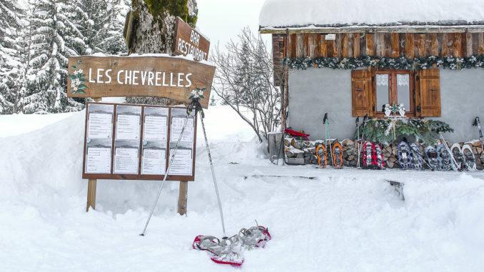 Berghütte Les Chevrelles. Foto: Hilke Maunder