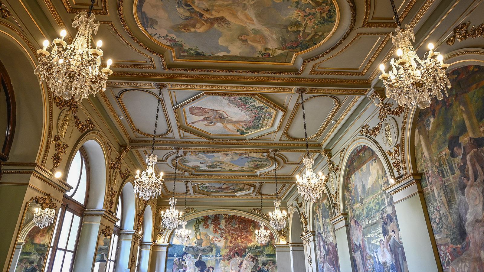 Toulouse: der Salle des Illustres im Capitol. Foto: Hilke Maunder