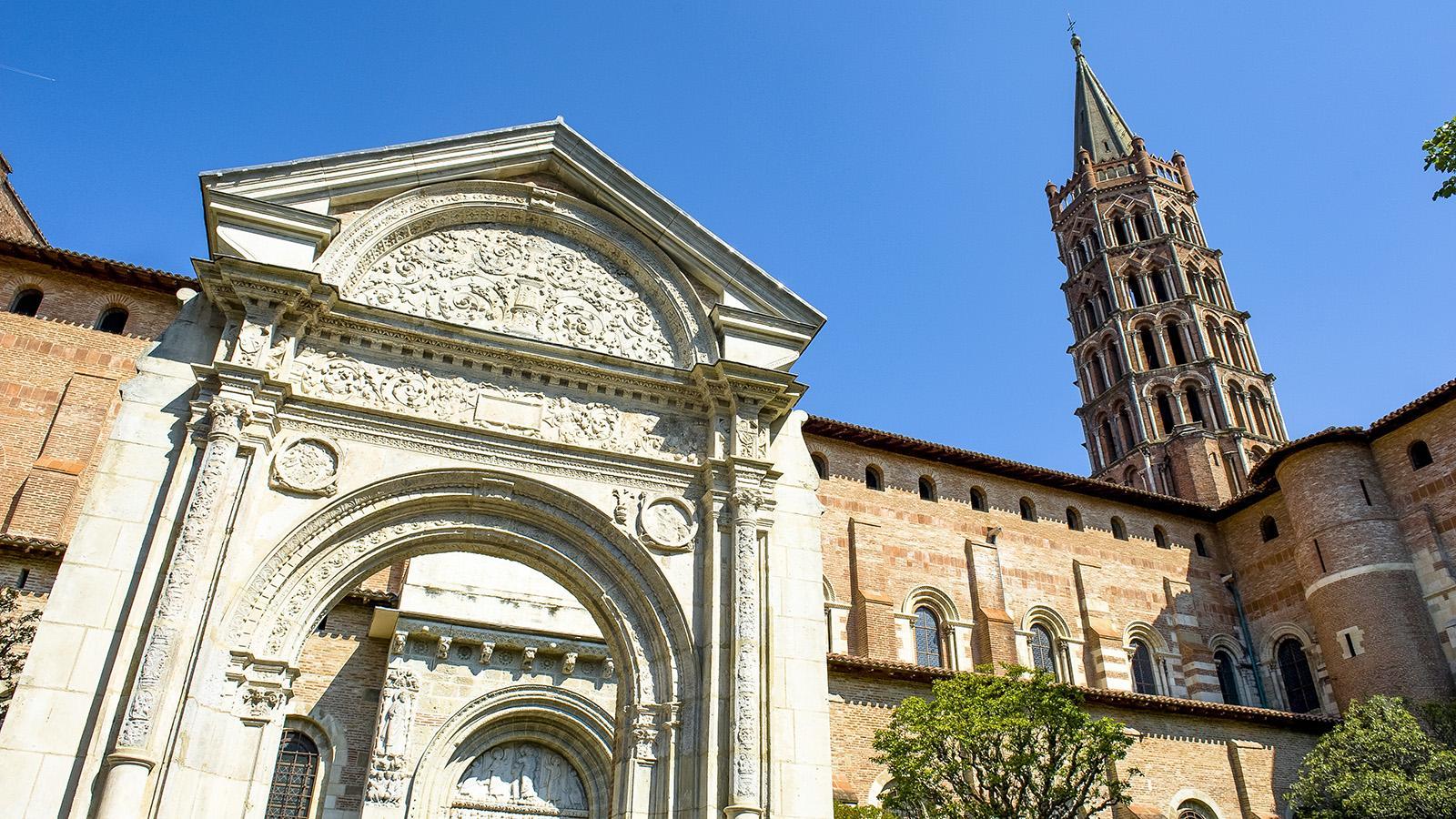 Toulouse: Saint-Sernin gehört als Station der französischen Jakobswege zum Welterbe. Foto: Hilke Maunder
