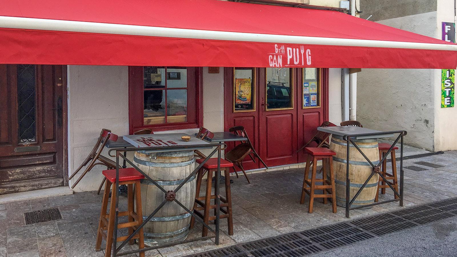 Der Grill <em>Can Puig. Foto: Hilke Maunder</em>
