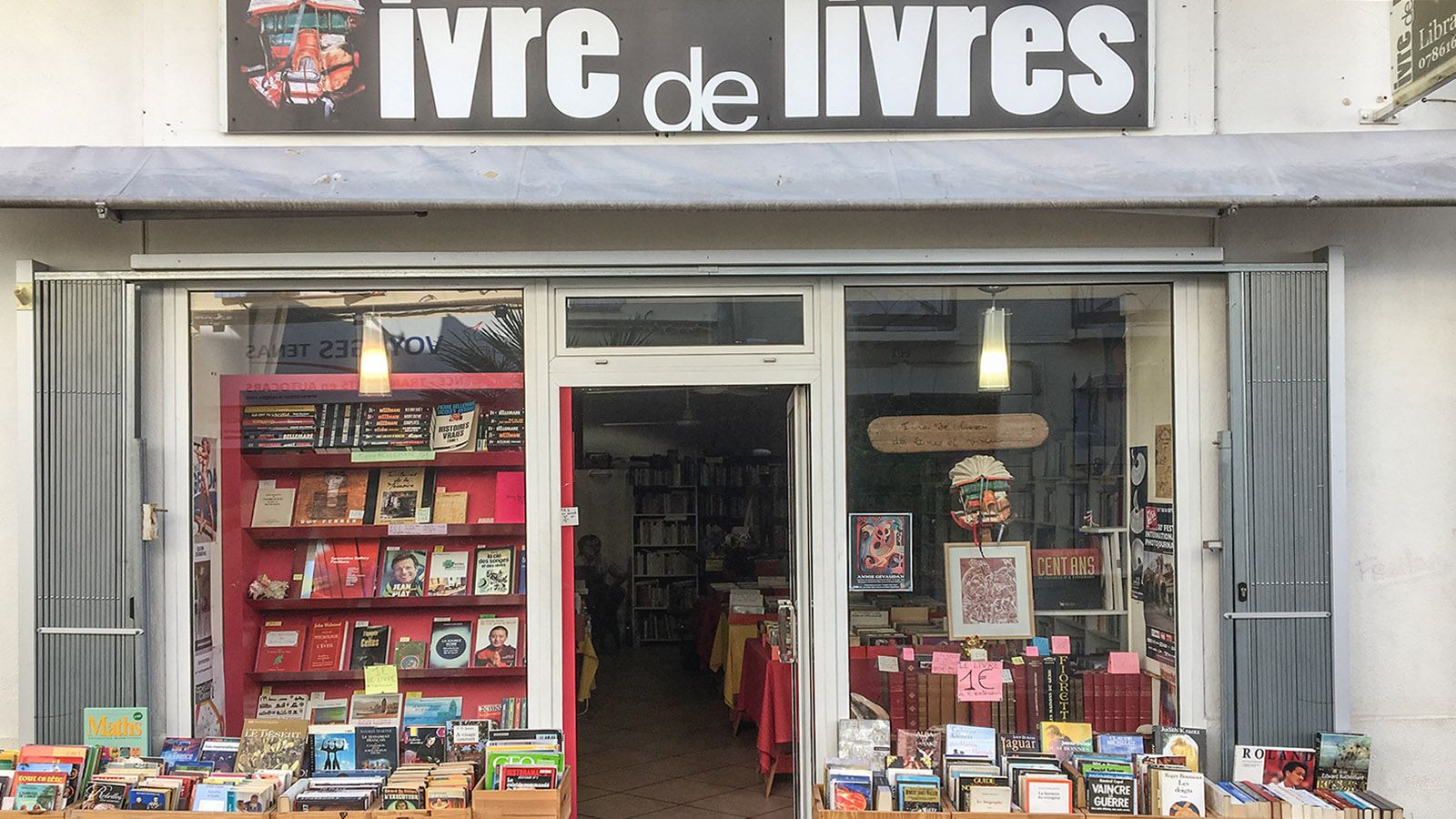 Trunken von Büchern - was für ein Name für einen Buchladen! Foto: Hilke Maunder
