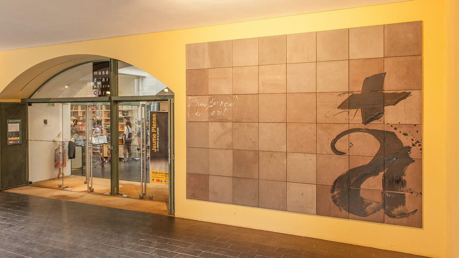 Der Eingang zum Kunstmuseum von Céret. Foto: Hilke Maunder