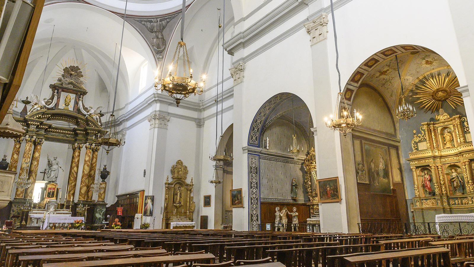 Céret: Glaubenshochburg im Herzen der Altstadt: die église Saint-Pierre. Foto: Hilke Maunder