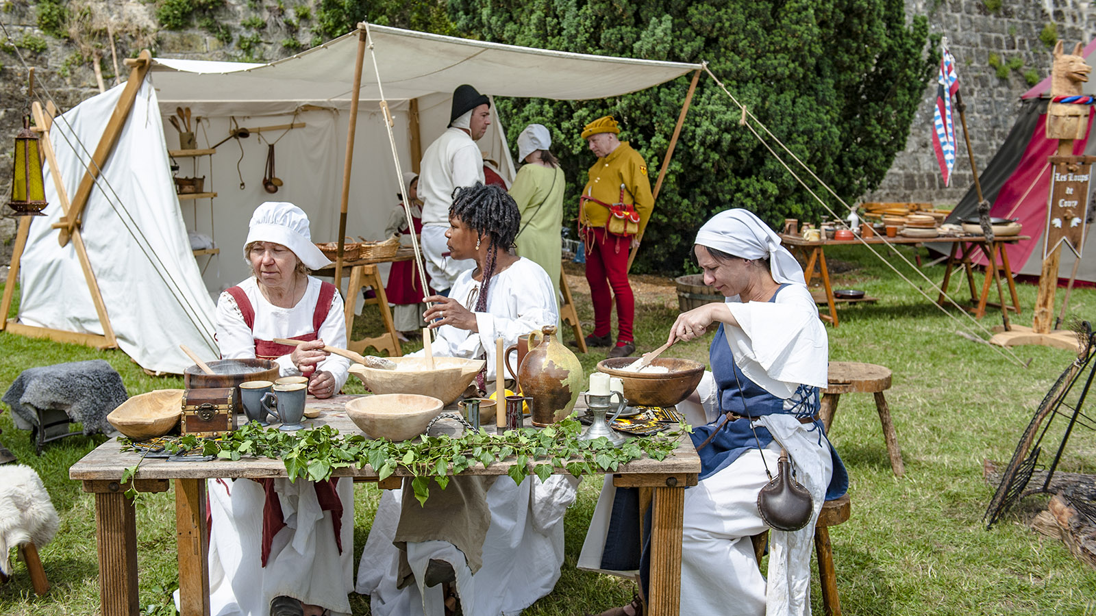 Mittelalterfest Laon. Foto: Hilke Maunder
