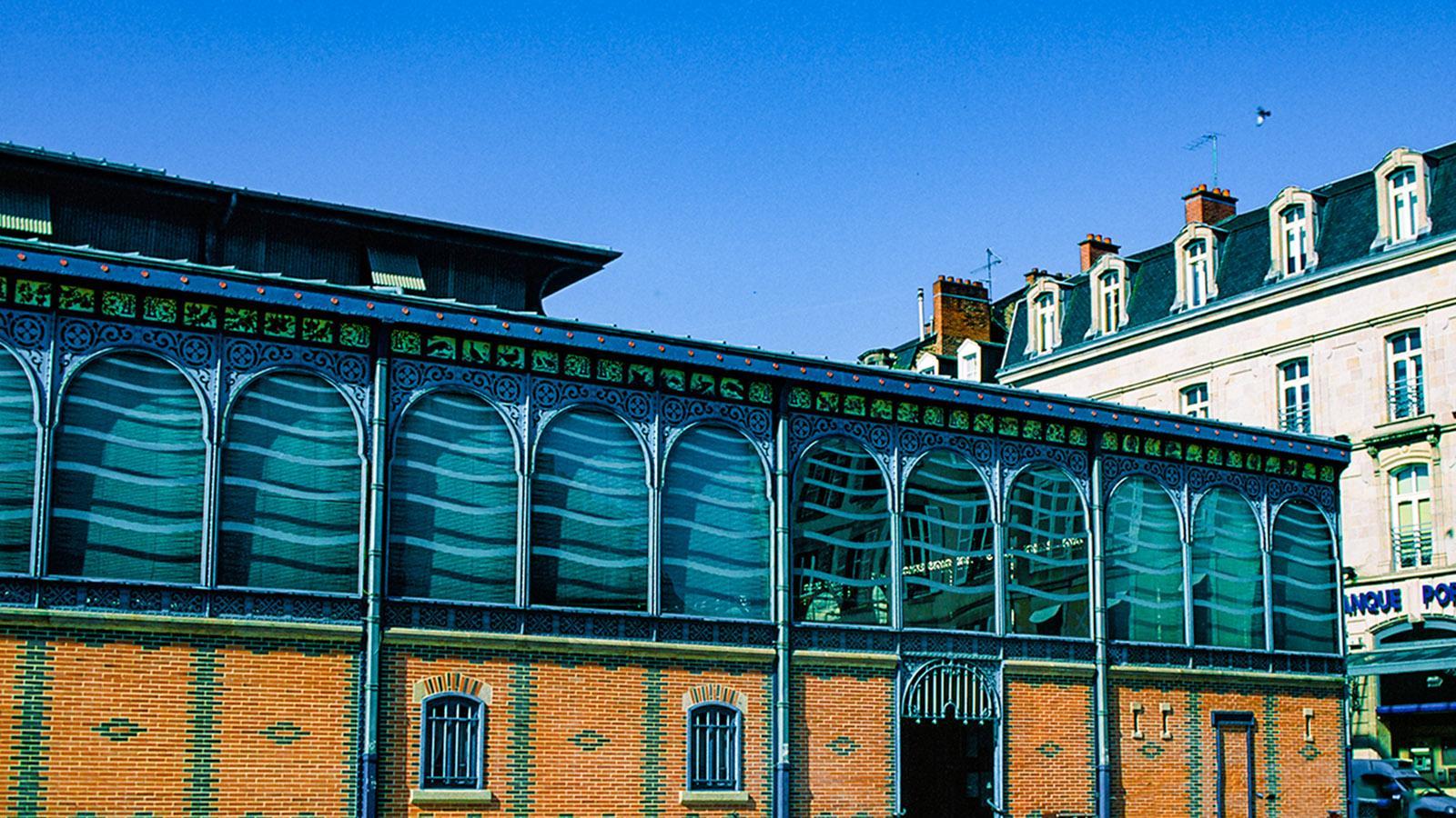Limousin: Die Markthalle von Limoges. Foto: Hilke Maunder
