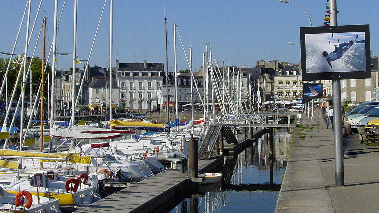 F/Bretagne/Morbihan/Vannes:Hafen während des Internationalen Festivals der Fotografie. Foto: Hilke Maunder