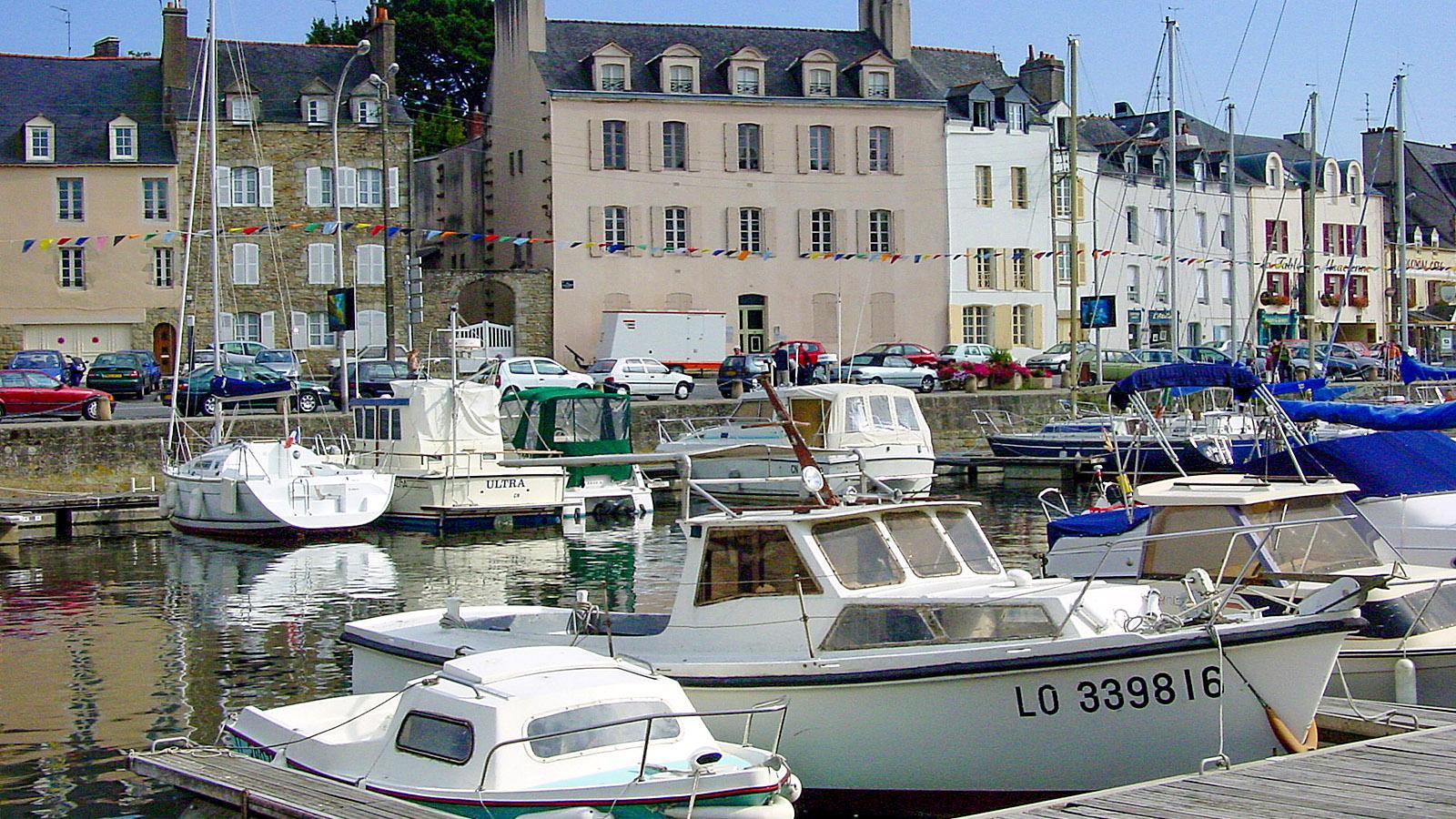 Der Hafen von Vannes. Foto: Hilke Maunder