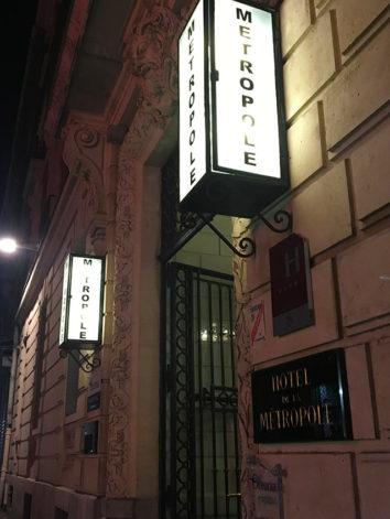F_Montpellier_Hotel Oceania Metropole_Eingang_credits_Hilke Maunder