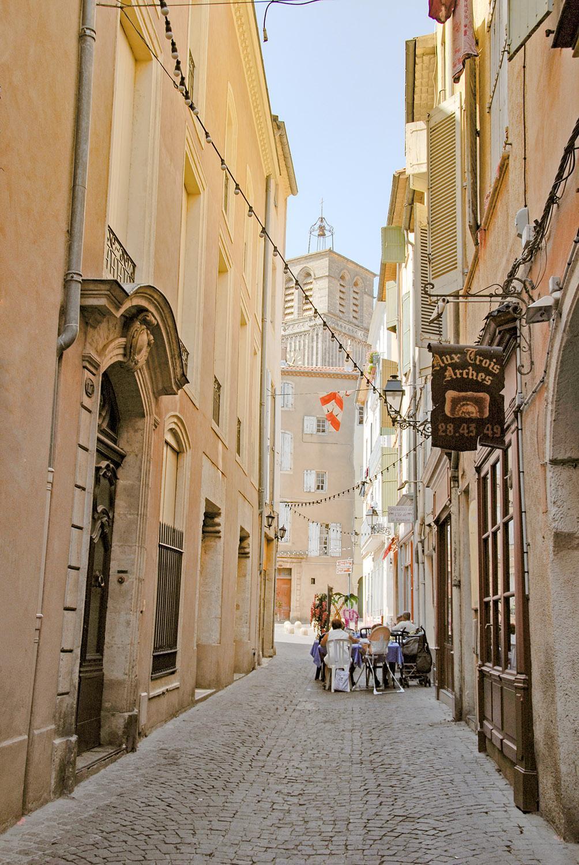 In der Altstadt von Béziers. Foto: Hilke Maunder