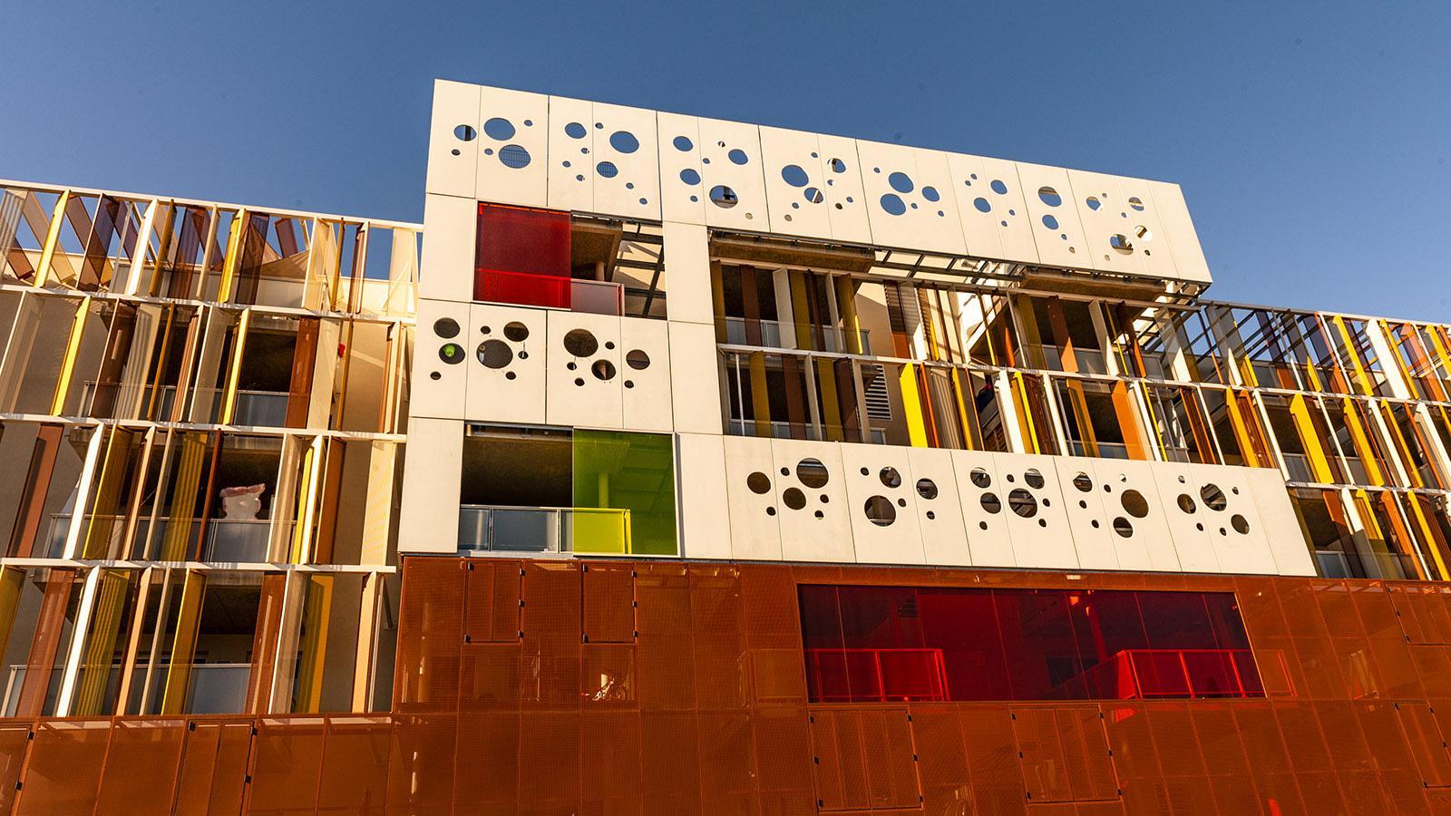 Moderne Architektur in Béziers. Foto. Hilke Maunder